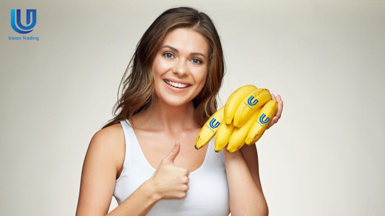 ăn chuối già nam mỹ cavendish banana chín vàng có tính kiềm cao chống được virus corona